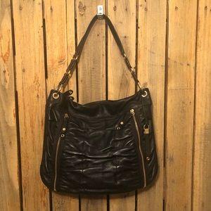 Cole Haan Black Leather Satchel